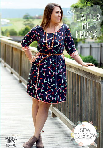 Flatter Me Frock -- Sew to Grow Patterns