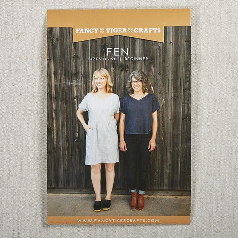 Fen Shirt and Dress Pattern -- Fancy Tiger Crafts