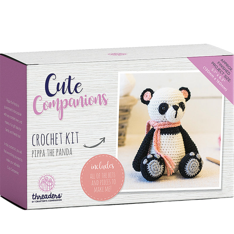 Crochet Kit Pippa the Panda