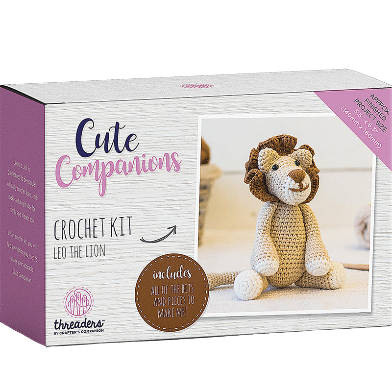 Crochet Kit Leo the Lion