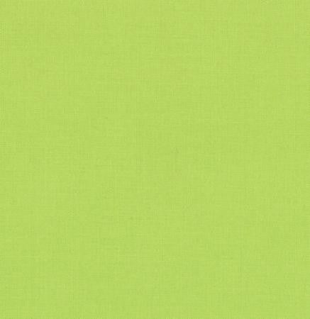 Bella Solid Summer House Lime --- Moda Fabrics