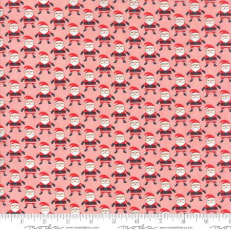 Santa Argyle in Pink  -- The North Pole -- Stacy Iest Hsu for Moda Fabrics