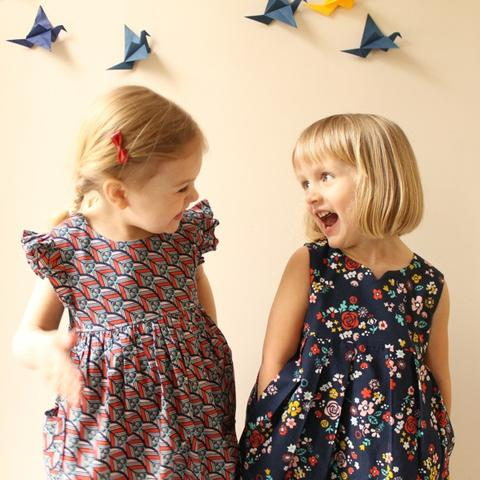 Geranium Dress Pattern (0-5T) -- Made by Rae