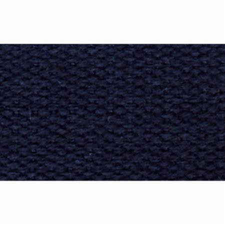 "1""  Navy 100%  Cotton Webbing by half hard"