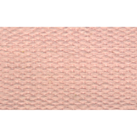 "1 1/2"" 100% Cotton Strapping/Webbing -- Light Pink"