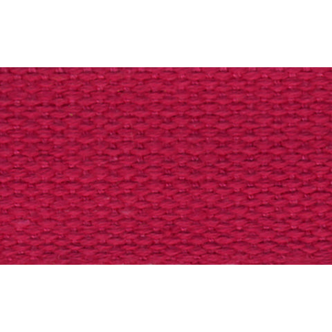 "1 1/2"" 100% Cotton Strapping/Webbing -- Dark Pink"