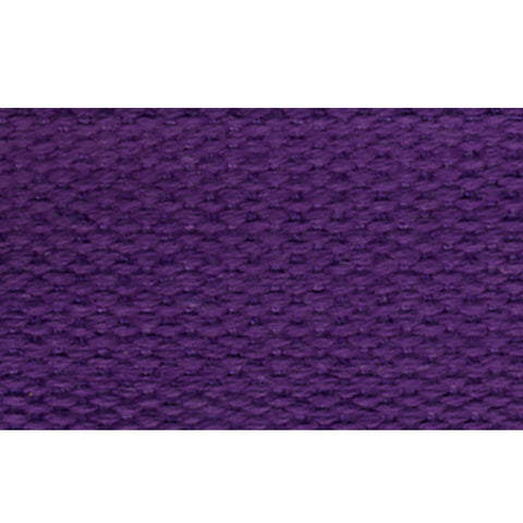 "1 1/2"" 100% Cotton Strapping/Webbing -- Purple"