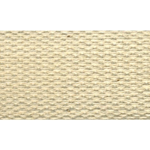 "1 1/2"" 100% Cotton Webbing -- Cream"