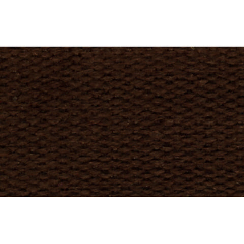 "1 1/2"" 100% Cotton Strapping/Webbing -- Dark Brown"