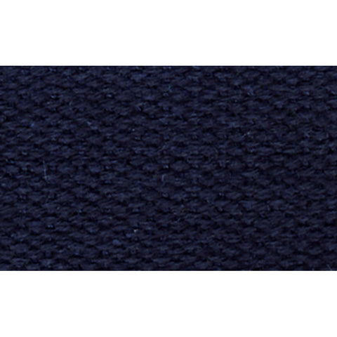 "1 1/2"" 100% Cotton Strapping/Webbing -- Navy"