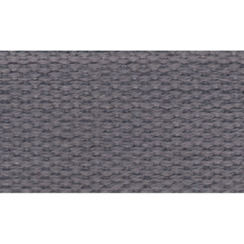 "1 1/2"" 100% Cotton Strapping/Webbing -- Grey"