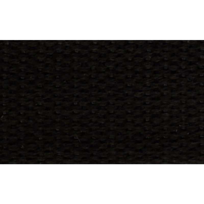 "1 1/2"" 100% Cotton Strapping/Webbing -- Black"