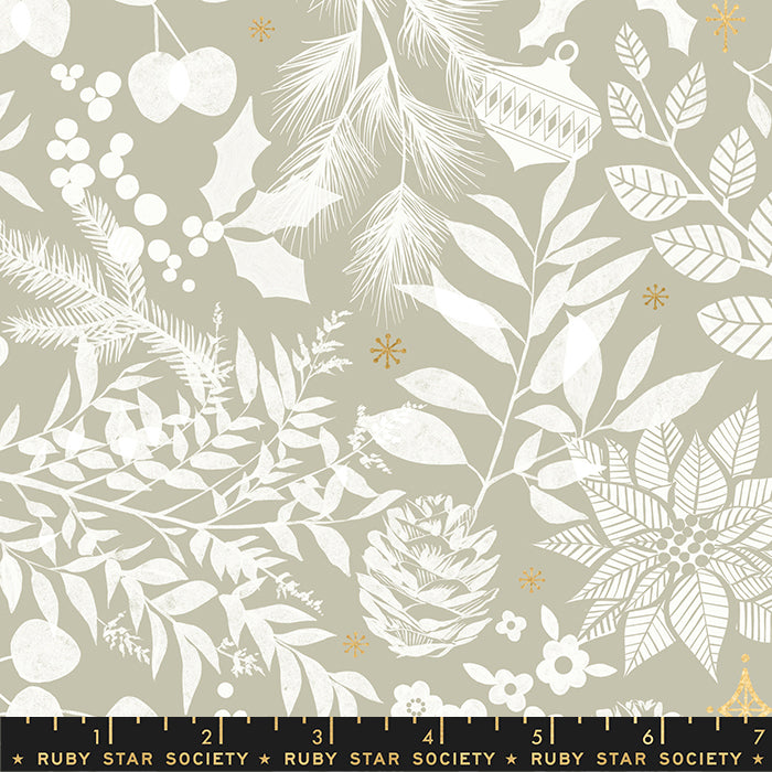 Winter Garden in Wool -- Candlelight Prints -- Alexa Abegg + Melody Miller for Ruby Star Society  --- Moda Fabric
