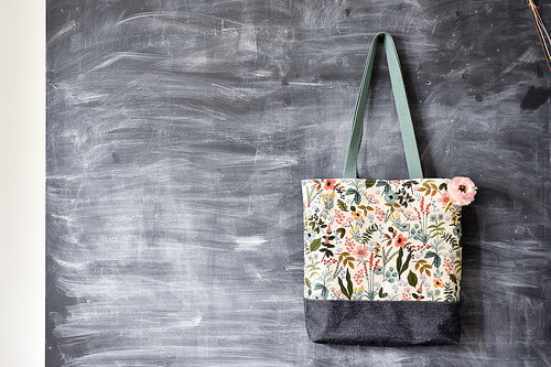 Wax + Wool Tote -- Intermediate Bag Making Class