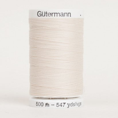 Gutermann Sew All Polyester Thread 547 yd -- 22
