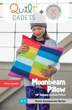 Quilt Cadets: Moonbeam Pillow Pattern by Latifah Saafir