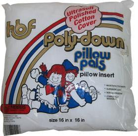 "PolyDown 16""x16"" Pillow Form"