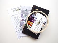 Be Bold Embroidery Kit --- Junebug and Darlin
