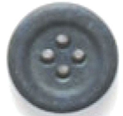 Dill Button  5/8 Gray