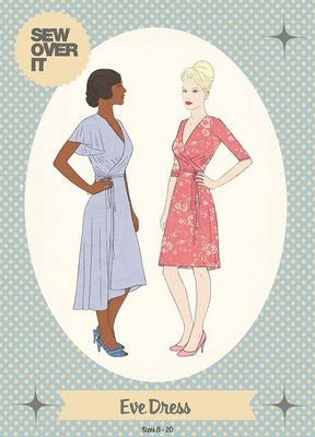 Eve Dress  Pattern -- Sew Over It