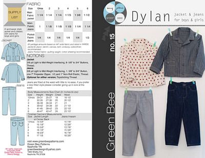 Dylan Jacket & Jeans --- Green Bee Designs & Patterns