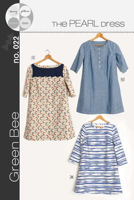 The Pearl Dress --- Green Bee Designs & Patterns