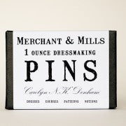 Dressmaking Pins Merchant & Mills of London