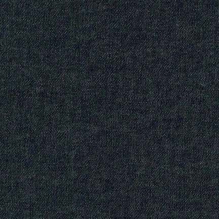 Indigo Black Washed Denim  -- Robert Kaufman
