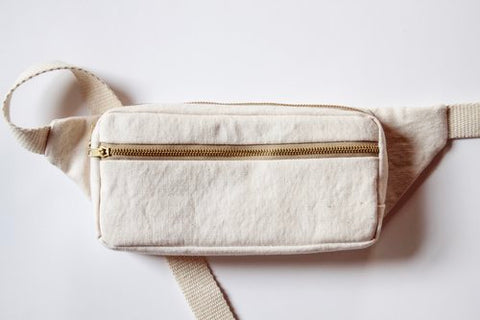 Intermediate Bag Making Class (VIRTUAL) --- Fennel Fanny Pack