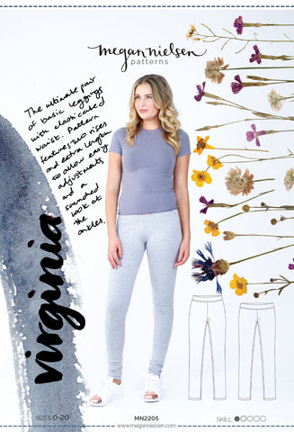 Leggings Class -- Intermediate Garment Making (VIRTUAL CLASS)
