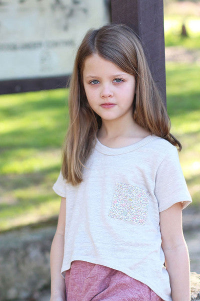Mini BRIAR SWEATER AND TSHIRT SEWING PATTERN by Megan Nielsen