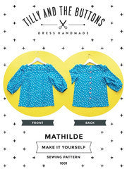 Mathilde Sewing Patterns  - Tilly and the Buttons