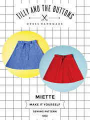 Miette Sewing Patterns  - Tilly and the Buttons