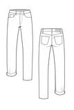 Morgan Boyfriend Jeans SEWING PATTERN by Closet Case Files