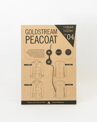 Goldstream Peacoat Sewing Pattern by Thread Theory