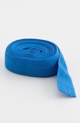 "Fold-over Elastic 5/8"" 2 yards in Blastoff Blue --- Patterns by Annie"