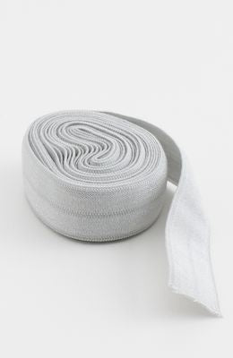 "Fold-over Elastic 5/8"" 2 yards in Gray --- Patterns by Annie"