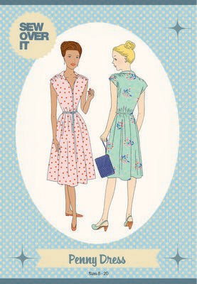 Penny Dress Pattern -- Sew Over It