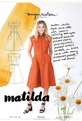 Matilda Dress PATTERN by Megan Nielsen