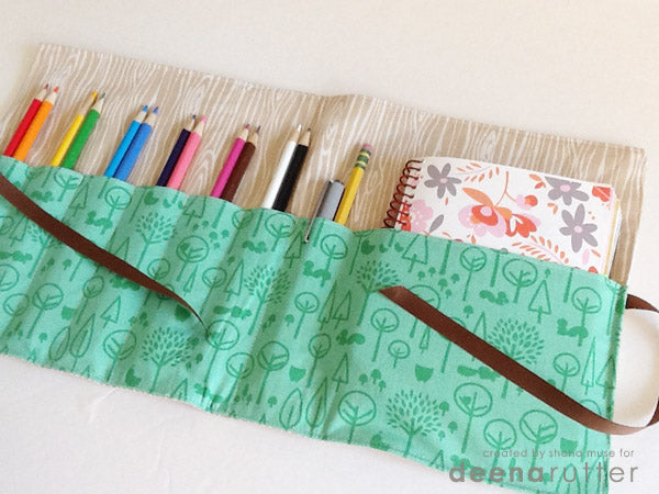 Parent & Me Sewing Class (Ages 5-12) -- Pencil & Notebook Case