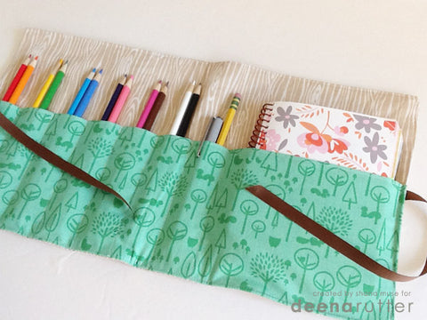 Virtual Parent & Me Sewing Class (Ages 8 & up) -- Pencil & Notebook Case