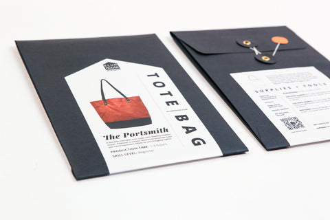 Portsmith Tote Pattern -- Klum House