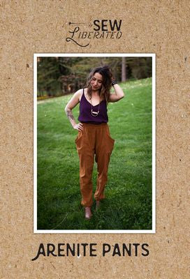 Arenite Pants Sewing Pattern -- Sew Liberated