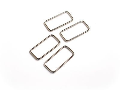 "1 1/2"" Silver Rectangle Rings --- Sallie Tomato"