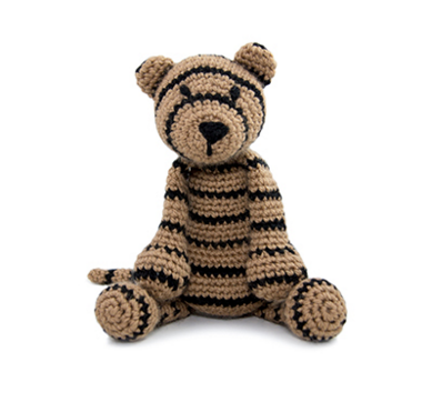 Laurence the Tiger Kit --- Toft UK