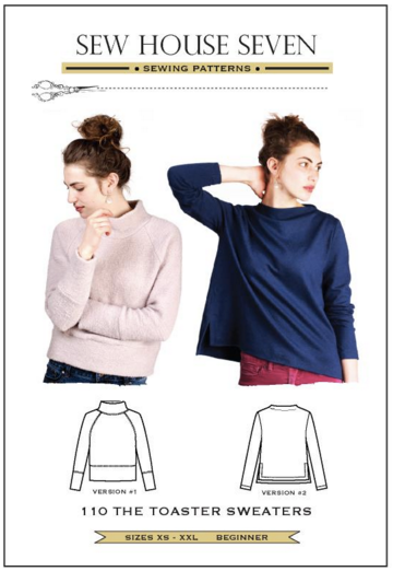 The Toaster Sweaters Sewing Pattern --- Sew House Seven