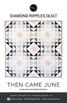 Diamond Ripples Pattern by Then Came June