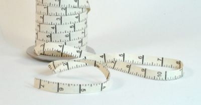 5/8in Cotton Twill Measuring Tape Natural