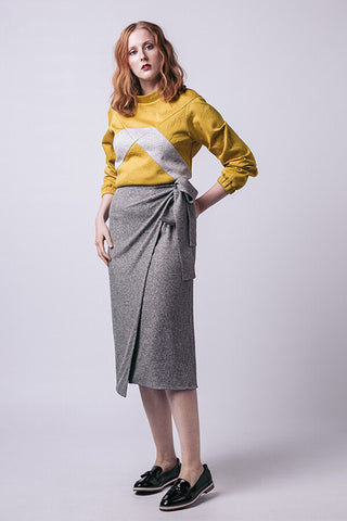 Tierra Wrap Skirt Sewing Pattern --- Named Clothing
