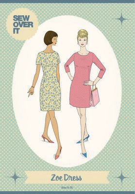 Zoe Dress Pattern -- Sew Over It